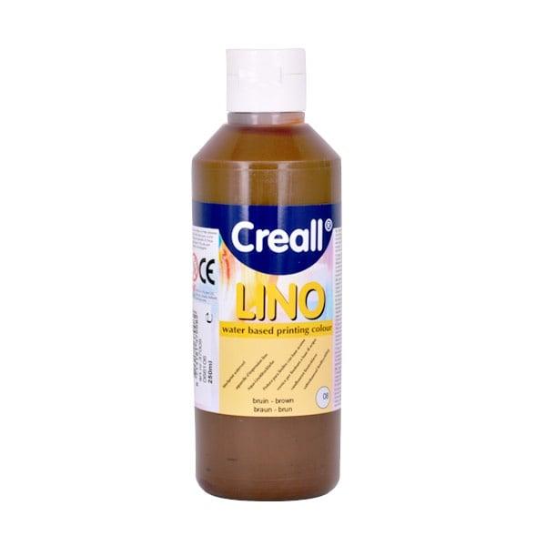 Мастило за линогравюра CREALL LINO, 250ml Мастило за линогравюра CREALL LINO, 250ml, кафяво