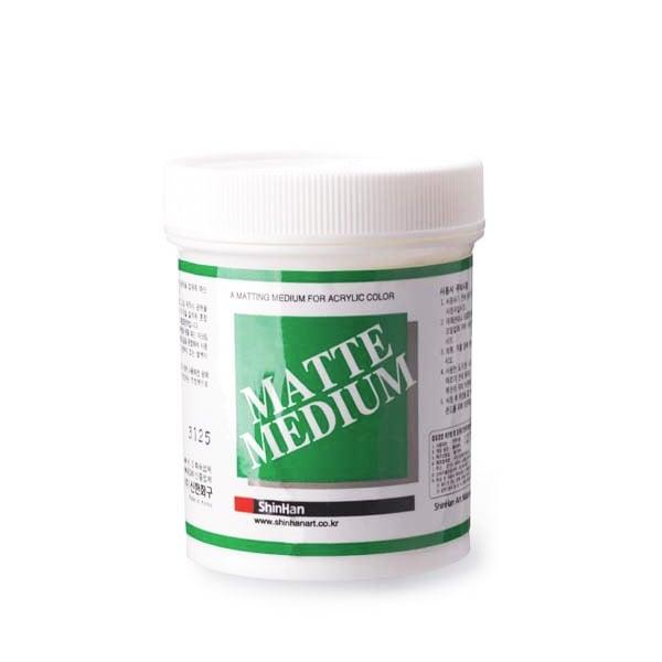 Гел / Гланц / Мат медиум за акрилни бои, 240 ml Мат медиум за акрилни бои, 240 ml