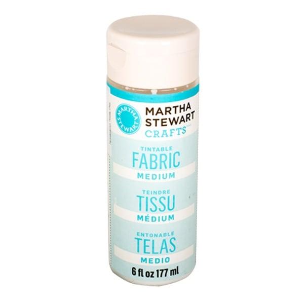 Медиум специален ефект Martha Stewart, 118 / 177ml Медиум Martha Stewart, Tintable Fabric, 177 ml