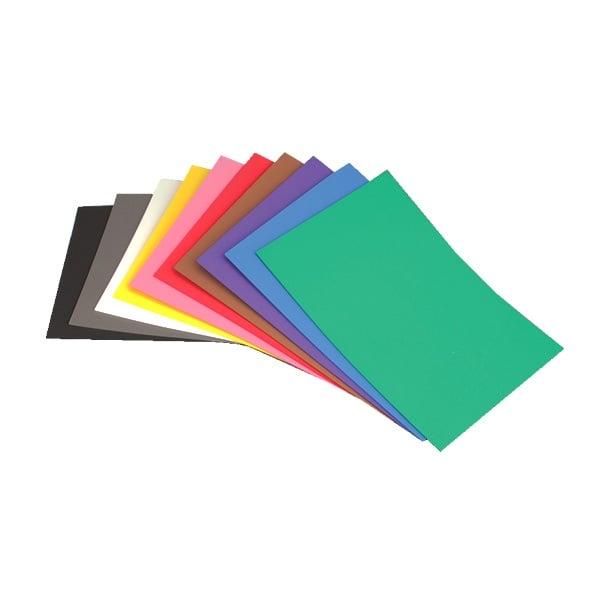 Мека пеногума, лист, 200 x 300 x 2 mm, различни цветове