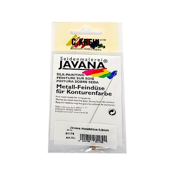 Дюза за нанасяне на текстилни бои Метална дюза за контурни бои JAVANA 0,9 mm