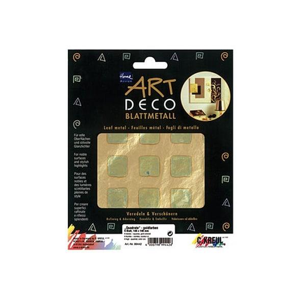 Метални листи ART Deco, 140 х 140 mm, 6л, квадрати