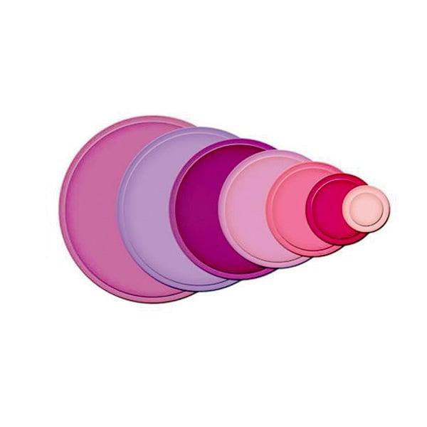 Метални шаблони за изрязване на хартия, кръгли LG, ~ ф 2,9 - 10 cm, 7