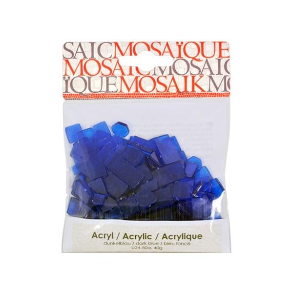 Мозаечни плочки Acrylic Mosaic, 250 бр. Мозаечни плочки Acrylic Mosaic, 250 бр., тъмно синьо