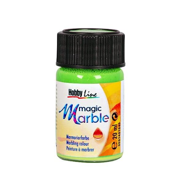 Мрамориращи бои Magic Marble Marmorierfarbe, 20 ml Мраморираща боя Magic Marble Marmorierfarbe, 20 ml, светло зелена