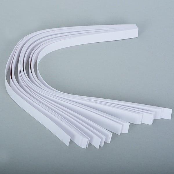 Набор ленти за празнични звезди, 130 g/m2, 1,5 x 45 cm, 80 л., бели