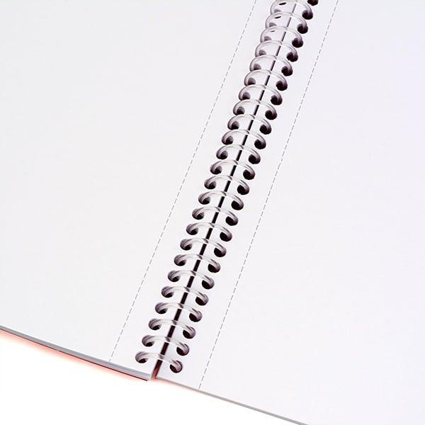 Скицник със спирала Notte Art, 240 x 340 mm, 120 g/m2, 30 листа