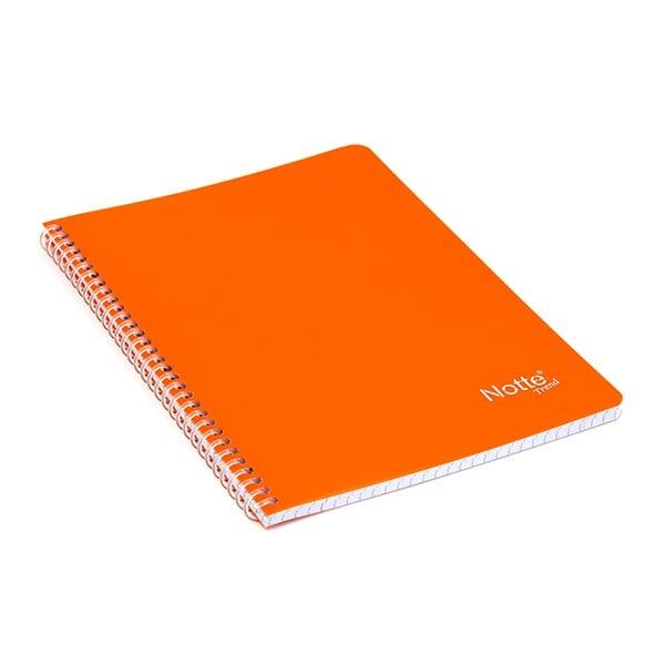 Тетрадка Notte Trend, A5, спирала, PP корица, 60 л., квадрат, 60 g/m2