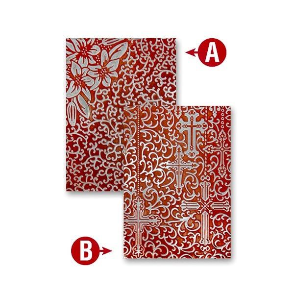 """Папка за релеф върху хартия, """"Реверанс"""", ~12,7 x 17,8 cm"""