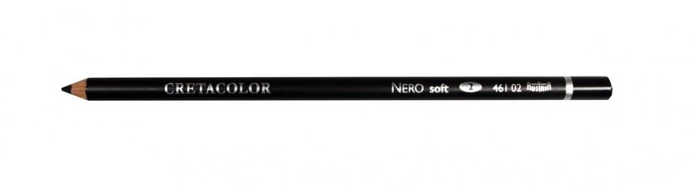 Пастелен черен молив CretaColor, Nero Drawing Пастелен черен молив CretaColor, Nero Drawing, soft