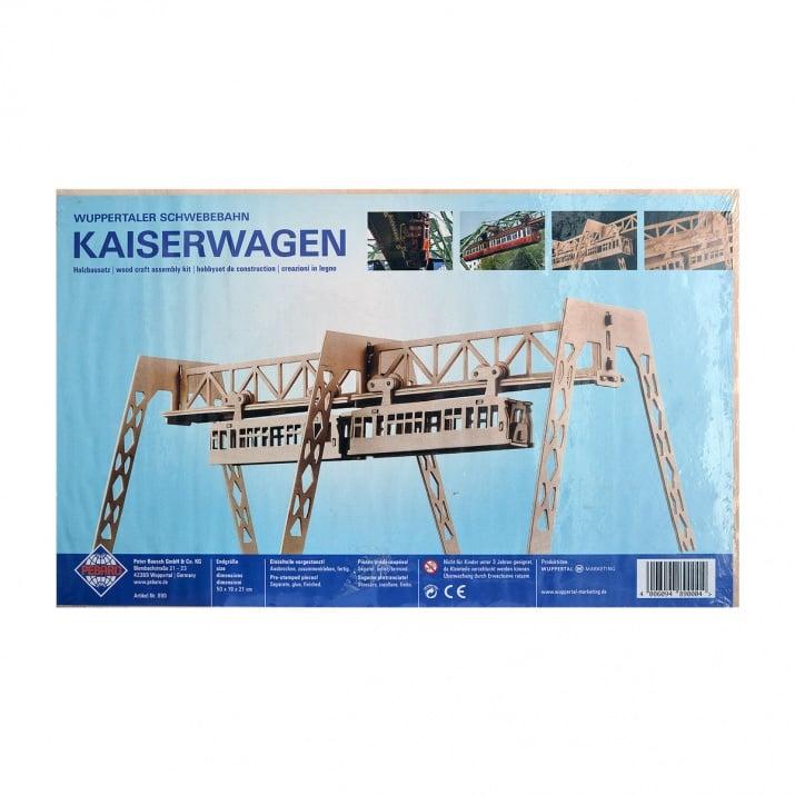 Алуминиево фолио, 20 х 30 см / 0,15 мм, 3 бр., двуцветно - червено и сребристо Дървен комплект за сглобяване, Вуперталскта железница