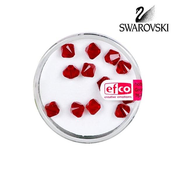 Перла многостенна Swarovski, 6 mm, 12 бр. Перла многостенна Swarovski, 6 mm, 12 бр., сиам