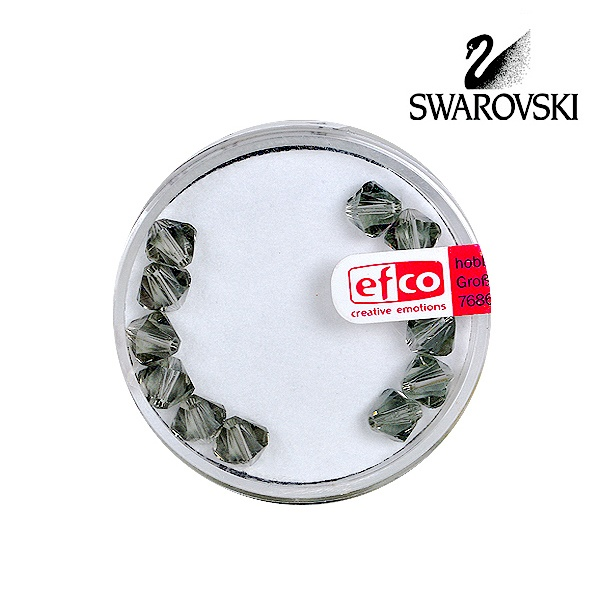 Перла многостенна Swarovski, 6 mm, 12 бр.