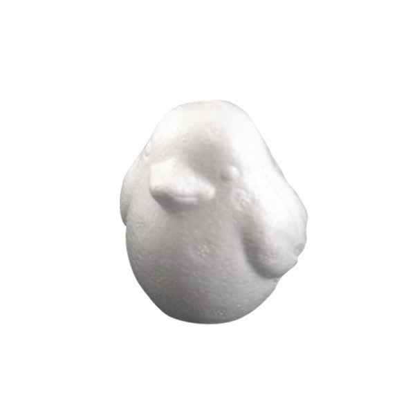 Пиленце от стиропор, бял, H 100 mm