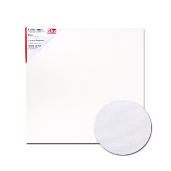 Платно за рисуване грундирано, 380g/m2, 1,7 сm, бяло Платно с рамка за рисуване грундирано, 380 g/m2, 1,7 cm, бяло, 60 х 60 cm