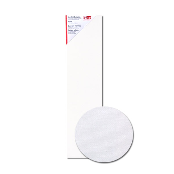 Платно за рисуване грундирано, 380g/m2, 1,7 сm, бяло Платно за рисуване грундирано, 380 g/m2, 1,7 cm, бяло, 20 x 80 cm