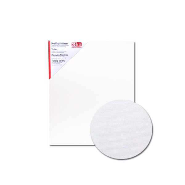 Платно за рисуване грундирано, 380g/m2, 1,7 сm, бяло Платно за рисуване грундирано, 380 g/m2, 1,7 cm, бяло, 40 x 50 cm