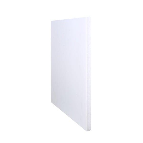 Плоскост за декорация от лек порест материал, 1 лист, 21 x 29,7 cm  Плоскост за декорация от лек порест материал, 1 лист, 21 x 29,7 cm x 5 mm, бяла