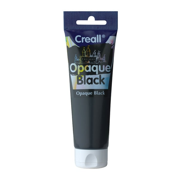 Покривна боя CREALL OPAQUE, 120 ml Покривна боя CREALL OPAQUE, 120 ml, черна