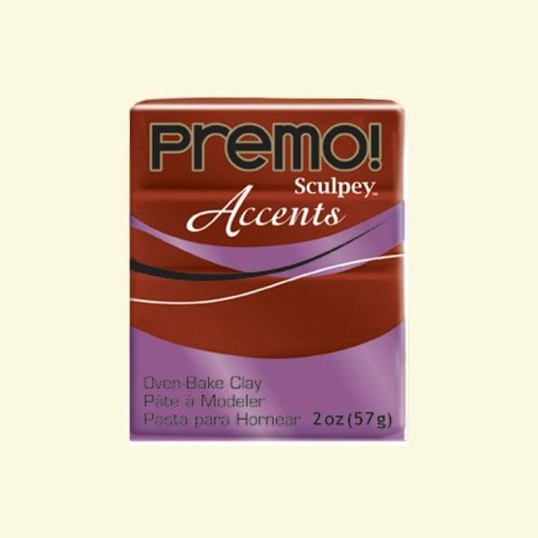 Полимерна глина Premo! Accents Sculpey, 57g Полимерна глина Premo! Accents Sculpey, 57g, бронз