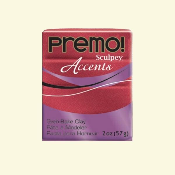 Полимерна глина Premo! Accents Sculpey, 57g Полимерна глина Premo! Accents Sculpey, 57g, червен пясъчник