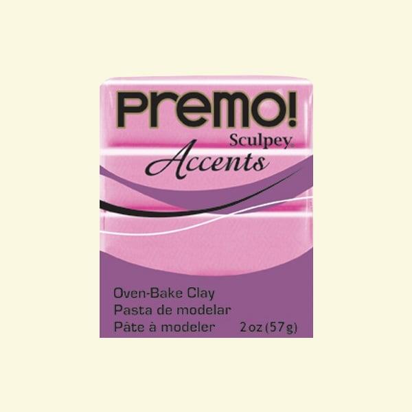 Полимерна глина Premo! Accents Sculpey, 57g Полимерна глина Premo! Accents Sculpey, 57g, магента перлено