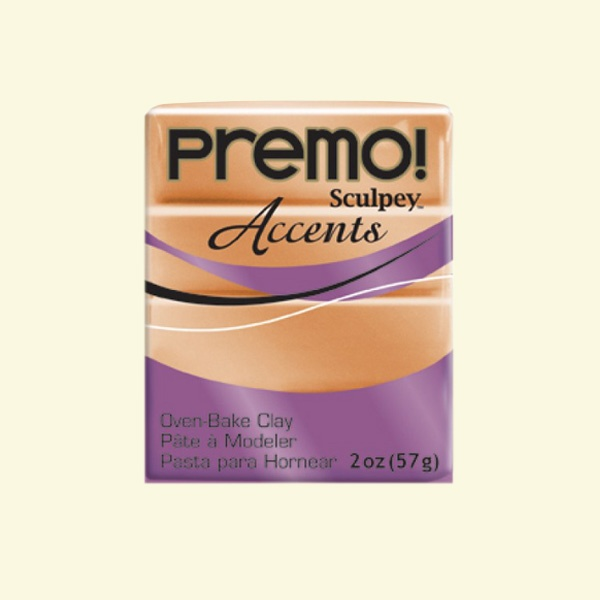 Полимерна глина Premo! Accents Sculpey, 57g Полимерна глина Premo! Accents Sculpey, 57g, мед
