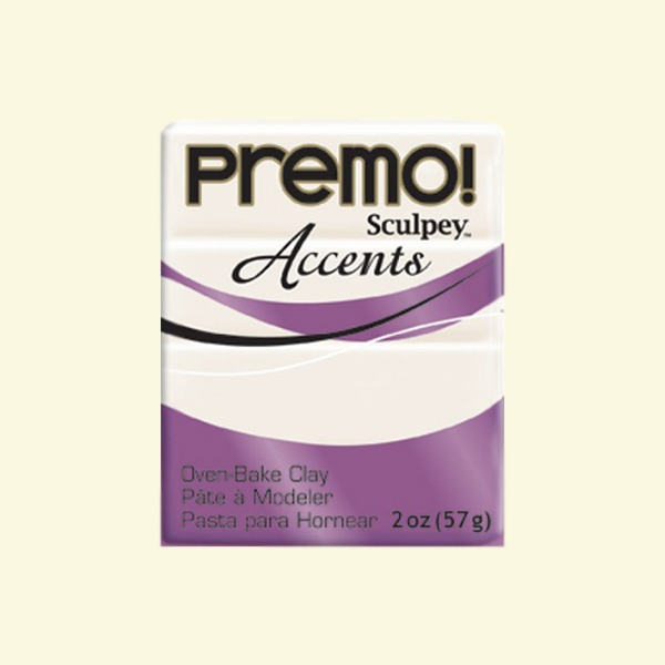 Полимерна глина Premo! Accents Sculpey, 57g Полимерна глина Premo! Accents Sculpey, 57g, перла