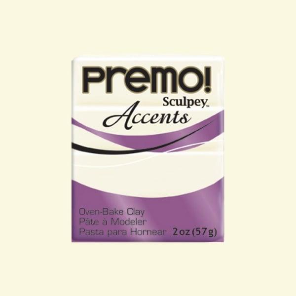 Полимерна глина Premo! Accents Sculpey, 57g Полимерна глина Premo! Accents Sculpey, 57g, полупрозрачно бяло