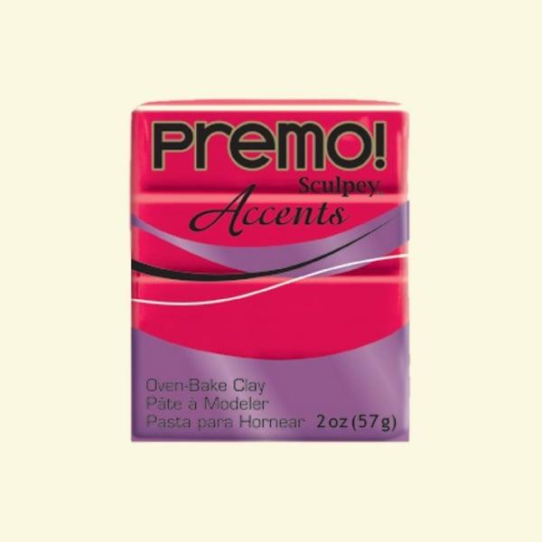 Полимерна глина Premo! Accents Sculpey, 57g Полимерна глина Premo! Accents Sculpey, 57g, полупрозрачно червено