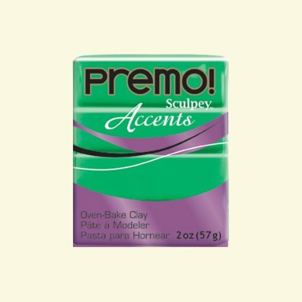 Полимерна глина Premo! Accents Sculpey, 57g Полимерна глина Premo! Accents Sculpey, 57g, полупрозрачно зелено