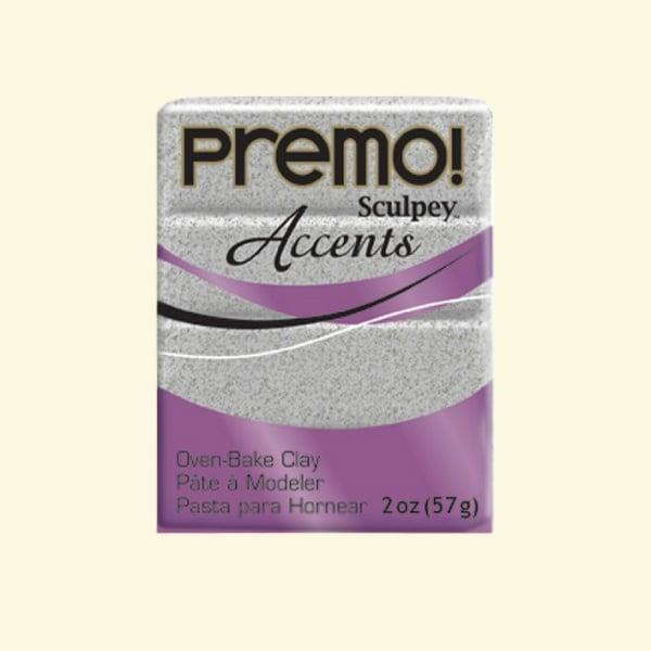 Полимерна глина Premo! Accents Sculpey, 57g Полимерна глина Premo! Accents Sculpey, 57g, сив гранит