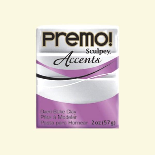Полимерна глина Premo! Accents Sculpey, 57g Полимерна глина Premo! Accents Sculpey, 57g, сребро