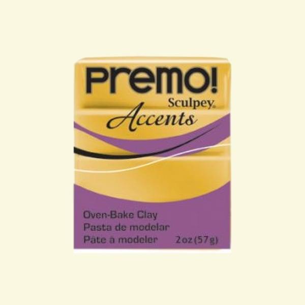 Полимерна глина Premo! Accents Sculpey, 57g Полимерна глина Premo! Accents Sculpey, 57g, злато