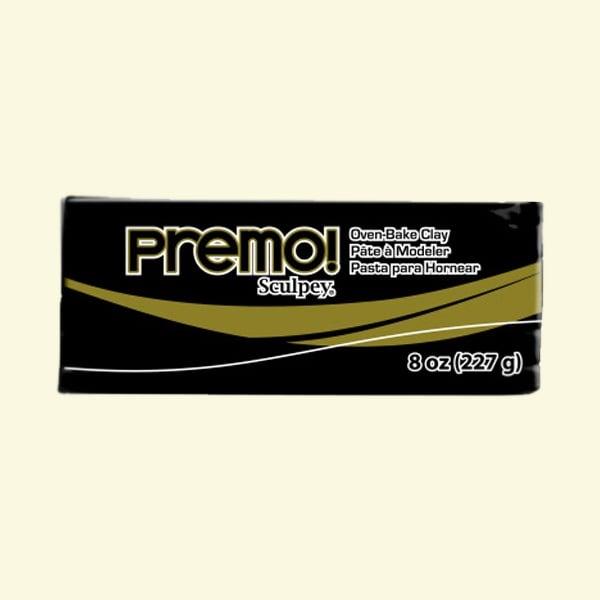 Полимерна глина Premo! Sculpey Полимерна глина Premo! Sculpey, 226g, черно