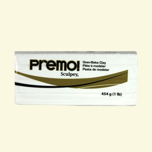 Полимерна глина Premo! Sculpey, 454 g Полимерна глина Premo! Sculpey, 454g, бяло