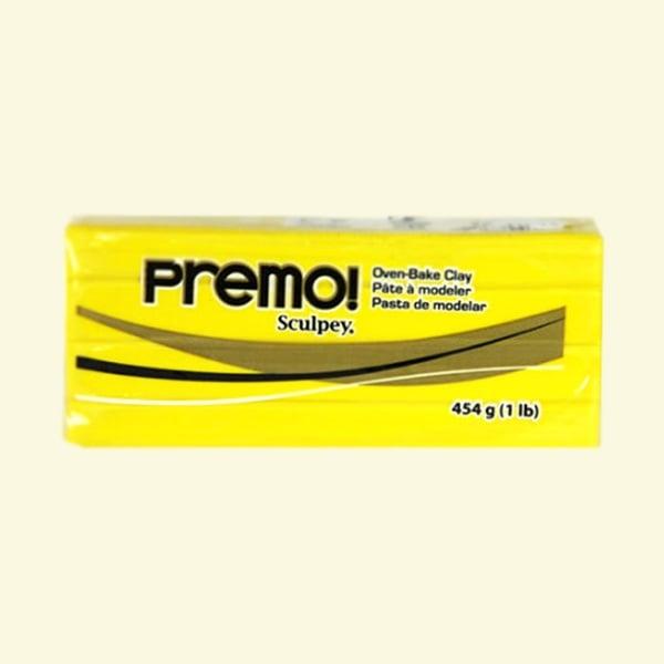Полимерна глина Premo! Sculpey, 454 g Полимерна глина Premo! Sculpey, 454g, кадмий с жълт оттенък