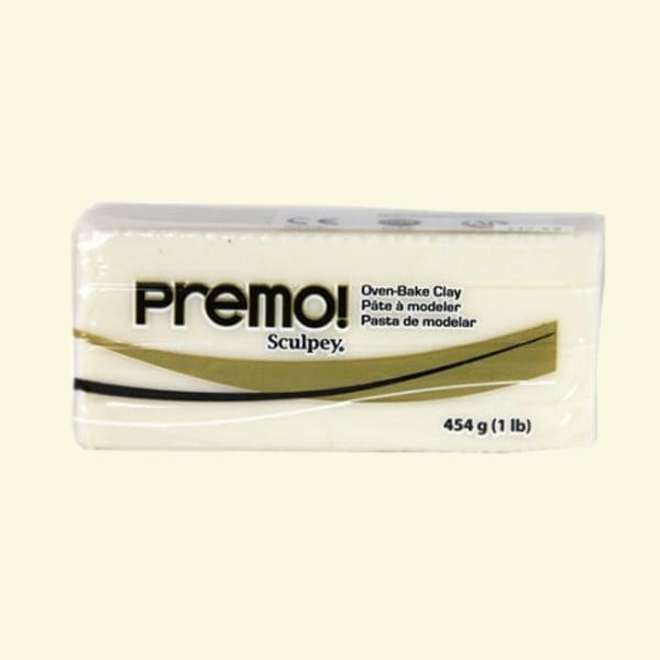 Полимерна глина Premo! Sculpey Полимерна глина Premo! Sculpey, 454g, полупрозрачно бяло