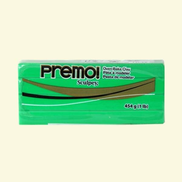 Полимерна глина Premo! Sculpey Полимерна глина Premo! Sculpey, 454g, зелено