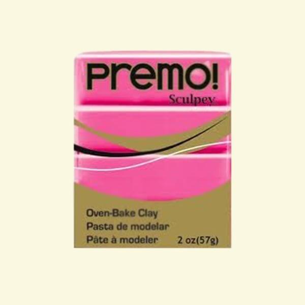 Полимерна глина Premo! Sculpey Полимерна глина Premo! Sculpey, 57g, флуорисцентно розово