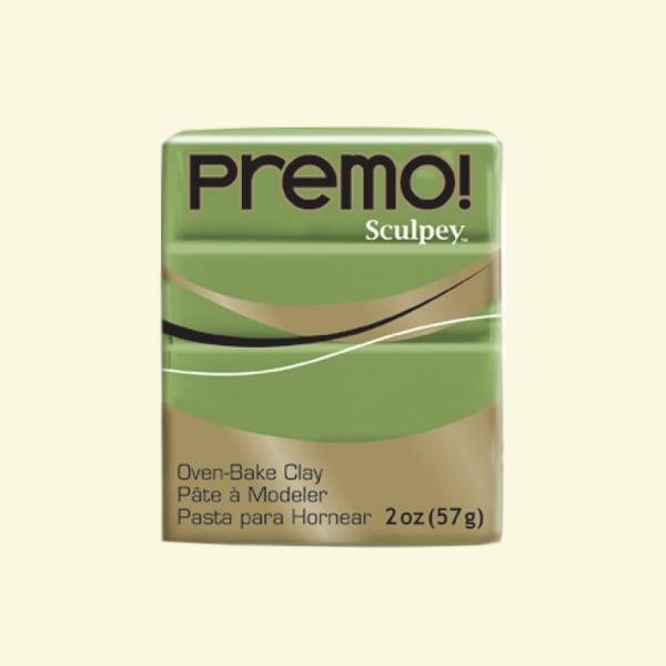 Полимерна глина Premo! Sculpey Полимерна глина Premo! Sculpey, 57g, испанска маслина
