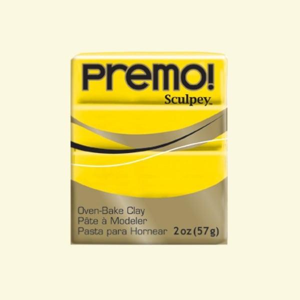 Полимерна глина Premo! Sculpey Полимерна глина Premo! Sculpey, 57g, кадмий с жълт оттенък