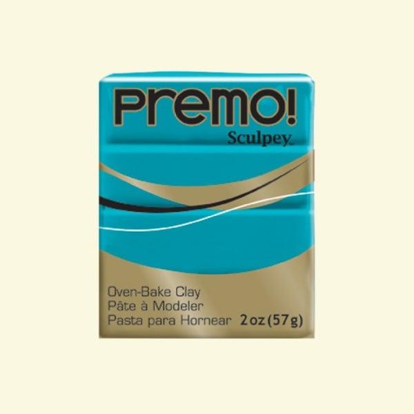 Полимерна глина Premo! Sculpey Полимерна глина Premo! Sculpey, 57g, тюркоазено