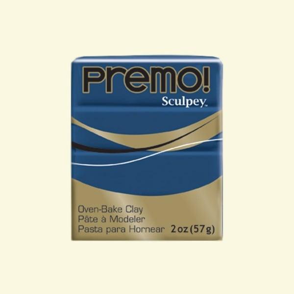 Полимерна глина Premo! Sculpey Полимерна глина Premo! Sculpey, 57g, войнишко синьо