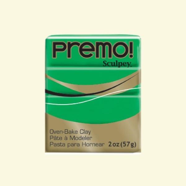 Полимерна глина Premo! Sculpey Полимерна глина Premo! Sculpey, 57g, зелено