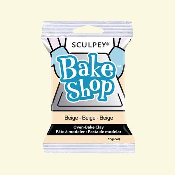 Полимерна глина Sculpey Bake Shop, 57g Полимерна глина Sculpey Bake Shop, 57g, бежово