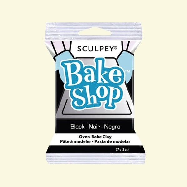 Полимерна глина Sculpey Bake Shop, 57g Полимерна глина Sculpey Bake Shop, 57g, черно