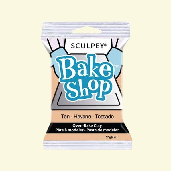 Полимерна глина Sculpey Bake Shop, 57g Полимерна глина Sculpey Bake Shop, 57g, жълтокафяв