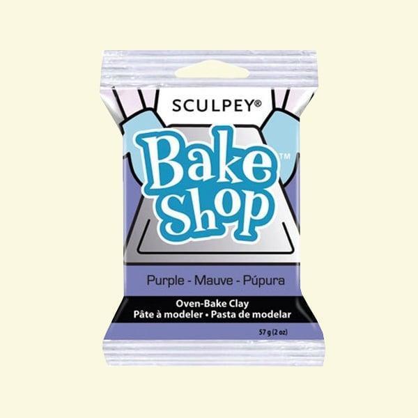 Полимерна глина Sculpey Bake Shop, 57g Полимерна глина Sculpey Bake Shop, 57g, лилаво