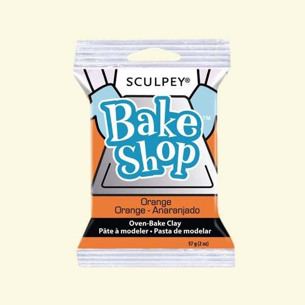 Полимерна глина Sculpey Bake Shop, 57g Полимерна глина Sculpey Bake Shop, 57g, оранжево